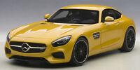76314 AUTOart 1:18 Mercedes AMG GT S Yellow