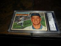 1956 Topps #318 Fred Hatfield DETROIT TIGERS Signed PSA/DNA Certified  D.1998
