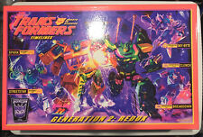 Transformers 2010 BOTCON Iacon Package MISB with instruction booklets and cards
