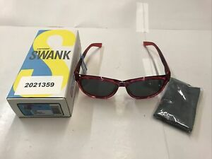 Tifosi Swank Pink Confetti Sunglasses - Smoke Lenses