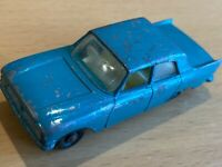 Matchbox Lesney 1963 No 33 Turquoise Ford Zephyr III