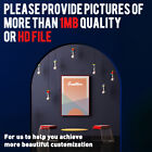 Custom Your Photo Picture HD Print on Art Fabric Poster Customized Sizes