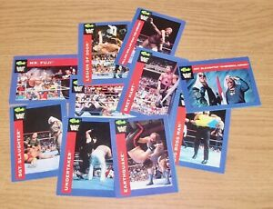 WWF - 1991 Trading Cards - Complete Your Collection - 76 - 150