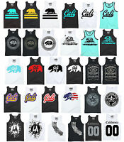 New Cali Tank Top shirt California Republic Men's T-shirts