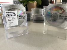 12 Memorex Recordable MD-80 Digital Audio Minidisc MD, With Cases