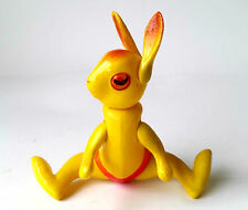 1950s Ussr Russian Soviet Celluloid Toy Doll Yellow Hare