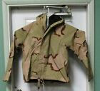 Chemical Protective Over garment / Jacket Top, Size Med-Reg, Desert brown camo