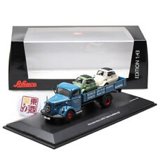SCHUCO 1:43 Benz L6600 Truck Isetta Die Cast Model