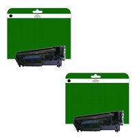 2 Black Toner Cartridges for Canon i-Sensys Fax-L150 L170 L410 non-OEM C728