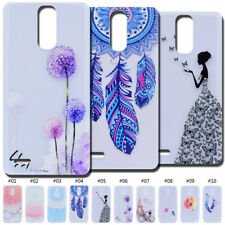 Clear TPU Pattern Protective Rubber Soft Back Case Cover Cute Skin For LG HTC