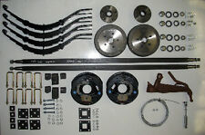 Trailer axle kit tandem 2000kg electric brakes dual axle car box spare parts