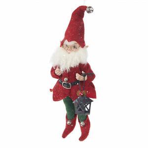 "Raz Imports 10.5"" Gnome Posable Elf"
