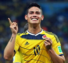 """Colombia Football World Cup Top Stars 24/""""x26/"""" Poster 016 James Rodriguez"""