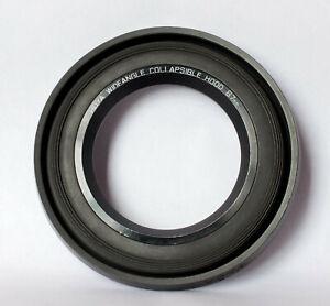 Hoya 67mm collapsible wideangle lens hood.