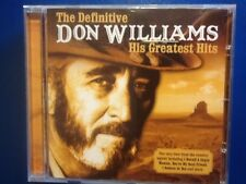 DON.  WILLIAMS.          DEFINITIVE. GREATEST. HITS. OF. DON. WILLIAMS.