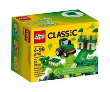 LEGO Building Kit Classic Green Creativity Box 10708 Christmas Holiday Kid Gifts