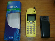NOKIA 5110 MOBILE PHONE UNLOCKED PHONE NEW GENUINE NOKIA YELLOW FRONT