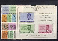 Zypern Jahrgang 1965 postfrisch kompl..................