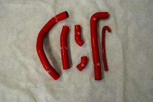 DUCATI PANIGALE   HOSE KIT RADIATOR COLOR  RED  KIT TUBI RADIATORE SILICONICI