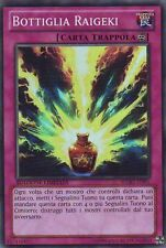 Bottiglia Raigeki YU-GI-OH! WGRT-IT091 Ita SUPER RARA Ed. Limitata
