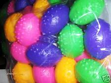 24 Neon Dinosaur Eggs  Birthday Party Carnival Favors