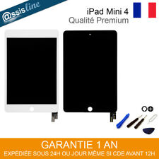 VITRE TACTILE + ECRAN LCD COMPLET IPAD MINI 4  A1538 / A1550 NOIR BLANC + OUTILS