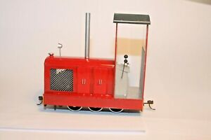 Gn15 1:24 Narrow Gauge freelance scratchbuilt Diesel locomotive Kadee couplings