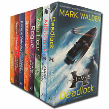 Mark Walden Higher Institute of Villainous Education 8 Books Collection Set New