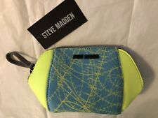 Steve Madden BNIA Active Pouch Cosmetic Case NWT BACK TO SCHOOL Yoga Gift