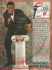 X7340 Karaoke Canta Tu - Giochi Preziosi - Pubblicità 1994 - Vintage advertising