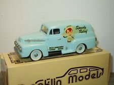"1952 Ford F1 Panel ""Alka-Seltzer"" van Brooklin Models 1:43 in Box *33245"