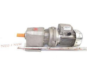 BONFIGLIOLI 0-12 Kw 12 Min Gear Motor Bn 63 B6 BN63B6 Gearbox