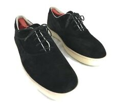 PUMA Hussein Chalayan Black Suede Sneakers Mens 11 Made Italy Urban Glide Shoes