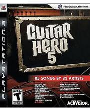 Guitar Hero 5 PS3 Playstation 3 T Kids Game