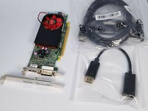 AMD R7 250 2GB PCIe Windows 10 Video Card DVI DisplayPort Adapter HDMI Cable