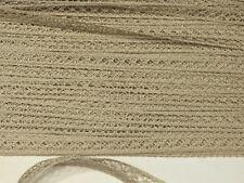Dentelle entre deux ancienne c 1950, vendue au mètre. French Vintage lace.