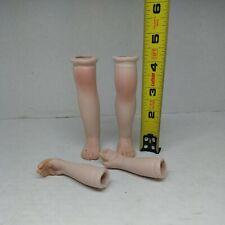 """Vintage Porcelain Doll Parts Arms Legs for Repair Restore 4"""" legs"""