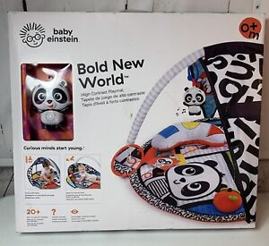 Baby Einstein Bold New World Baby Activity Gym & Play Mat With Melodies