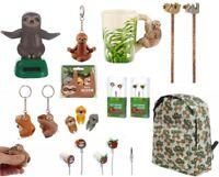 Kids Sloth Themed Mug Keyring Pencil Backpack Decor Novelty Gift Toy Stationery