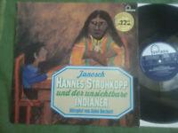 LP: JANOSCH - Hannes Strohkopp und der unsichtbare Indianer - FONTANA - Selten