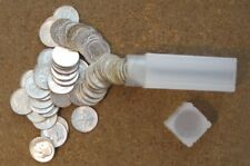 """ROLL (50 COINS) ROOSEVELT SILVER DIMES  """"UNSEARCHED MIXED DATES""""   GEM BU"""