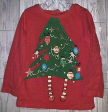 Girls Age 12-18 Months - Next Christmas Long Sleeved Top