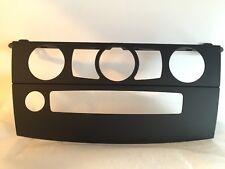 BMW OEM E60 E61 5 Series M CIC AC Professional Navigation Face Trim Bezel Cover