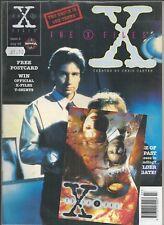 X FILES MANGA COMIC BOOK #2 JULY 1995 INCLUDING FREE POSTCARD
