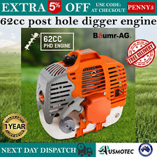 62CC Petrol Two-Stroke Commercial Earth Auger Borer Engine for Post Hole Digger