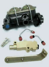 GM A Body Power Master Cylinder w/ Bleeders + Disc Drum Proportioning Valve Kit