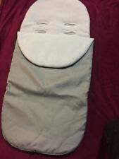 Baby Cosy Toes, Universal Two Way - Fleece/Smooth, Two Tone Grey Zips all round.