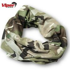 Viper Tactical Snood Army Scarf Face Wrap Hat Elastic Balaclava Head Cover V-cam