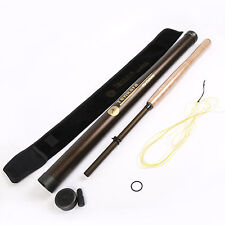 12 FT Tenkara Fly Fishing Rod With Carbon Tube And Cotton Cloth Sock+Line Combo