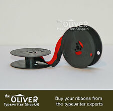 OLYMPIA TYPEWRITER RIBBON (SM3,SM4, SM7,SM9 Deluxe models) Black and Red